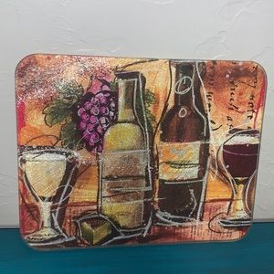 🍷 Wine themed Cutting Board